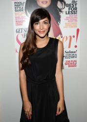 Hannah Simone - InStyle cocktail party in West Hollywood 6/19/13