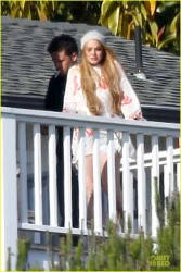 Lindsay Lohan - At Cliffside Malibu Rehab Center in Malibu 6/21/13