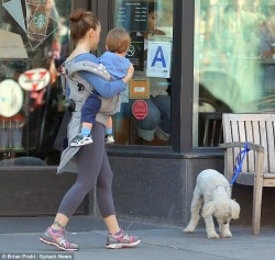 Alyssa Milano - out in NY 6/21/13