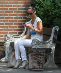 Olivia Munn - out in NYC 6/25/13