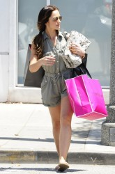 Minka Kelly - out in Beverly Hills 6/26/13