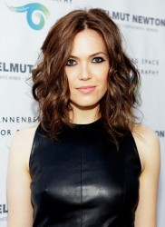 Mandy Moore - Helmut Newton opening night exhibit in Century City 6/27/13