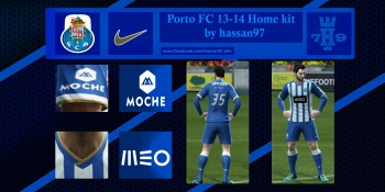 Porto FC 13-14 Home kit by hassan79 pes 2013
