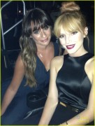 Lea Michele @ Beyonce concert in LA 7/1/13