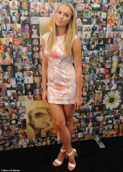 Ireland Baldwin - Blonde Awareness Month Artwork Unveiling in NYC 7/1/13