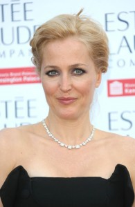 Gillian Anderson, Bazaar's dinner for Fashion Rules London 04/07/2013