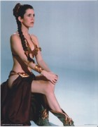 Carrie Fisher: New And/Or Upgraded ROTJ Pics: UHQ x 3