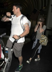 Megan Fox - At LAX Airport 7/7/13