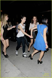 Adelaide Kane - at Bootsy Bellows in West Hollywood 7/5/13