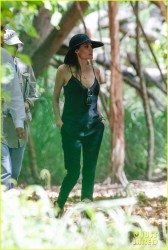 Angelina Jolie - Scouts 'Unbroken' Filming Locations in Hawaii 7/8/13