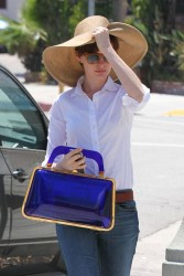 Anne Hathaway - out in Studio City 7/9/13