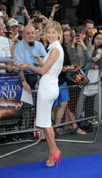 Rosamund Pike - 'The World's End' premiere in London 7/10/13