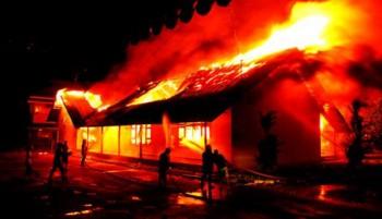 Kerusuhan Lapas Tanjung Gusta, Medan / Tribunnews