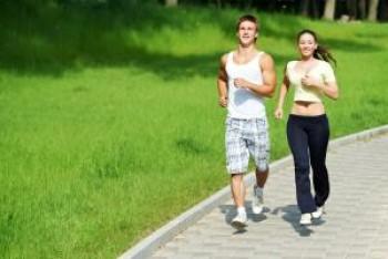 Jogging sore hari - Ist