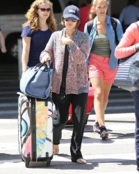 Rachel Bilson - At LAX Airport 7/16/13