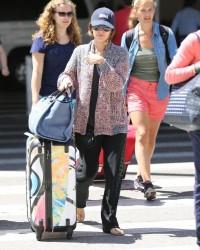 Rachel Bilson - At LAX Airport 7/16/13