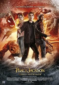Polski plakat filmu 'Percy Jackson: Morze Potworów'