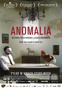 Polski plakat filmu 'Anomalia'