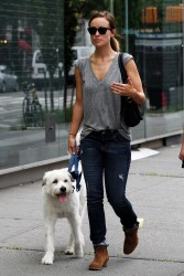 Olivia Wilde - out in NYC 7/22/13