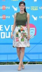 Alexandra Daddario - 2013 Giffoni Film Festival photocall in Italy 7/23/13