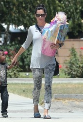 Sandra Bullock - out in Burbank 7/28/13