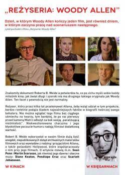 Tył ulotki filmu 'Reżyseria: Woody Allen'