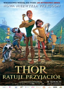 Przód ulotki filmu 'Thor Ratuje Przyjaciół'