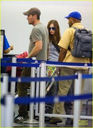 Megan Fox - Arriving to JFK Airport 8/2/13