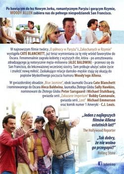 Tył ulotki filmu 'Blue Jasmine'