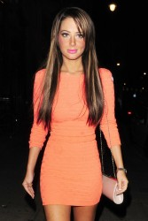 Tulisa Contostavlos - at Jalouse Club in Mayfair 8/4/13