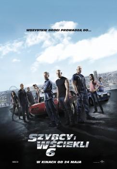 Polski plakat filmu 'Szybcy i Wściekli 6'