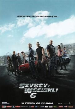 Przód ulotki filmu 'Szybcy i Wściekli 6'