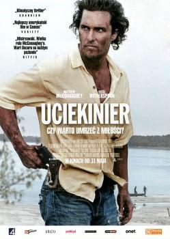 Przód ulotki filmu 'Ucieknier'
