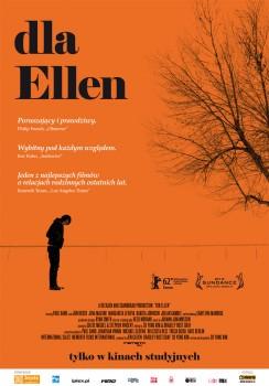 Polski plakat filmu 'Dla Ellen'