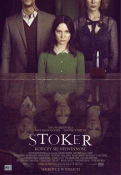 Polski plakat filmu 'Stoker'
