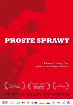 Polski plakat filmu 'Proste Sprawy'