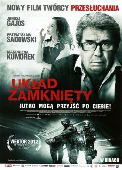 Przód ulotki filmu 'Układ Zamknięty'