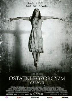 Przód ulotki filmu 'Ostatni Egzorcyzm. Część II'
