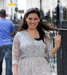 Kelly Brook - out in London 8/14/13