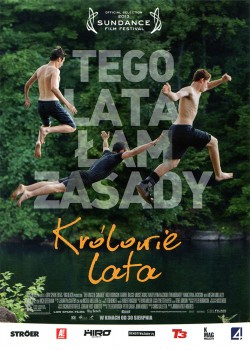 Przód ulotki filmu 'Królowie Lata'