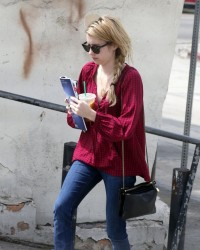 Emma Roberts - out in West Hollywood 8/19/13