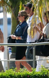 Jennifer Aniston - arrives at her hotel in Los Cabos 8/20/13