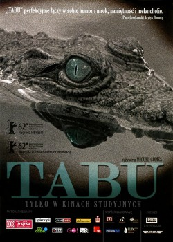 Przód ulotki filmu 'Tabu'