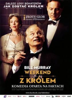 Przód ulotki filmu 'Weekend Z Królem'