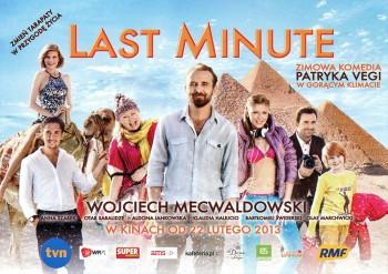 Przód ulotki filmu 'Last Minute'