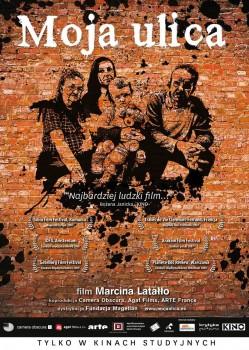 Polski plakat filmu 'Moja Ulica'