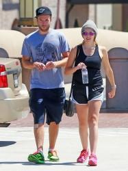 Teresa Palmer - Leaving the gym in LA 8/22/13