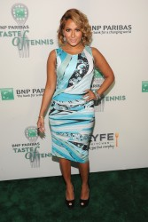 Adrienne Bailon - 14th Annual BNP Paribas Taste Of Tennis in NYC 8/22/13