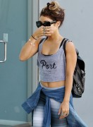 Vanessa Hudgens Going to a Gym in West Hollywood on August 24, 2013