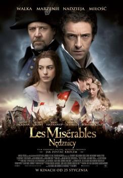Polski plakat filmu 'Les Misérables. Nędznicy'
